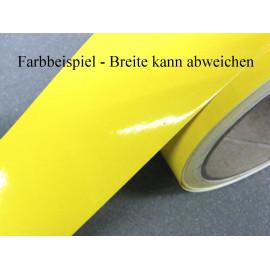 Zierstreifen 9 mm gelb glänzend 730