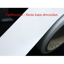 Zierstreifen 75 mm weiß matt 420