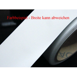 Zierstreifen 80 mm weiß matt 420