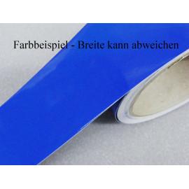 Zierstreifen 40 mm blau glänzend 782