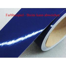 Zierstreifen 80 mm dunkelblau glänzend 786 RAL 5002