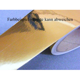 Zierstreifen 75 mm gold chrom glänzend 799
