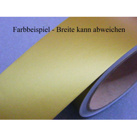 Zierstreifen 75 mm gold matt 491