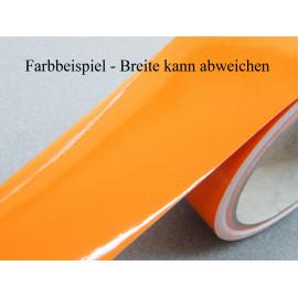 Zierstreifen 75 mm orange glänzend 741