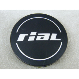 Nabenkappe Rial N32 schwarz matt