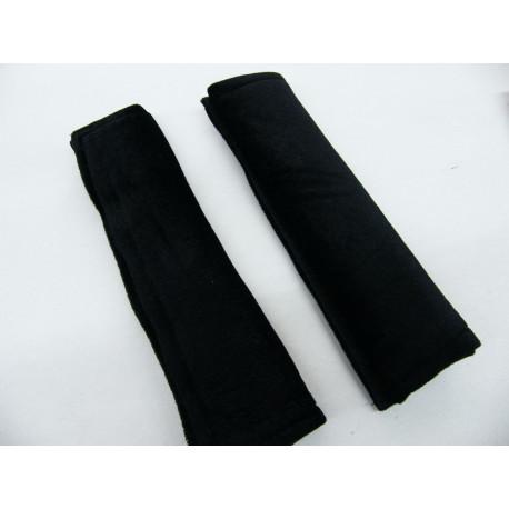 Gurtpolster Set schwarz extra weich