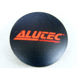 Nabenkappe Alutec N32 schwarz matt