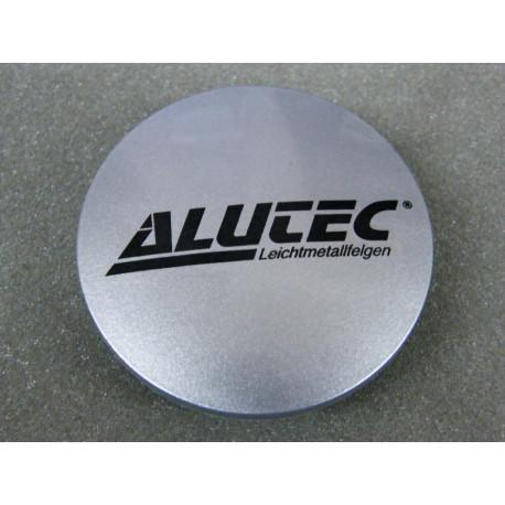 Nabenkappe Alutec N23 silber