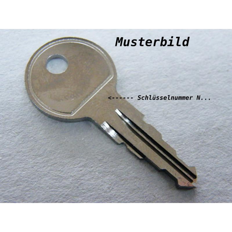Thule Schlüssel N030 N 030 Ersatzschlüssel für Heckträger Dachboxen Dachträger