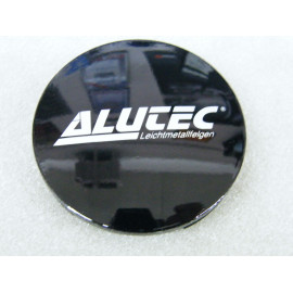 Nabenkappe Alutec N32 schwarz glänzend
