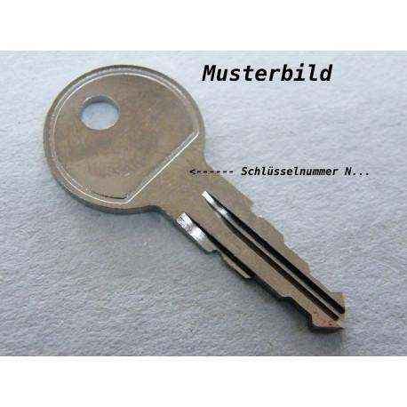 Thule Schlüssel N165 N 165 Ersatzschlüssel für Heckträger Dachboxen Dachträger