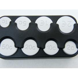 Groschenbox - Münzenhalter für Euro Münzen