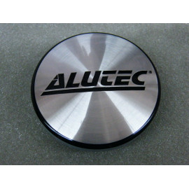 Nabenkappe Alutec N25 silber schwarz 5138