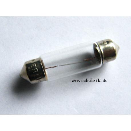 Glühlampe 6 Volt 5 Watt Sofitte 11x38 mm