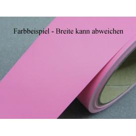 Zierstreifen 100 mm rosa pink matt 487