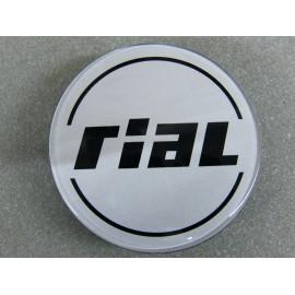 Nabenkappe Rial N35 silber 5346