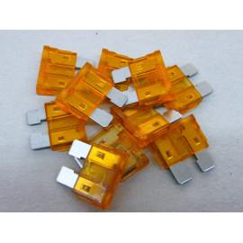 10 Stück Flachsicherungen 5 Ampere