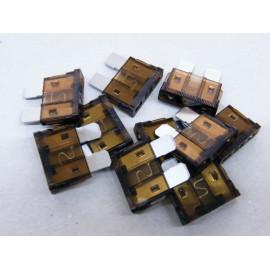 10 Stück Flachsicherungen 7,5 Ampere
