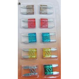 Mini Flachsicherungen Set