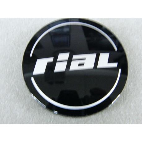 Nabenkappe Rial N50 schwarz glänzend