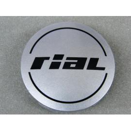 Nabenkappe Rial N50 silber glänzend