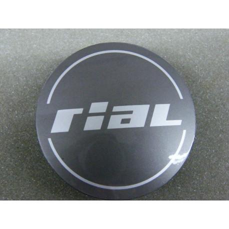 Nabenkappe Rial N50 grau glänzend