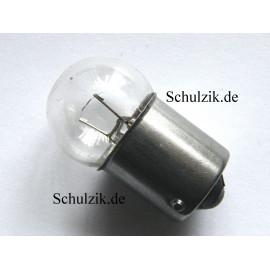 Glühlampe 6 Volt 5 Watt BA15s