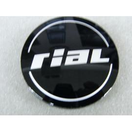 Nabenkappe RIAL N56 schwarz glänzend