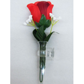 Kamei Blumenvase für das Armaturenbrett transparent