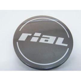 Nabenkappe Rial N37 metal grey glänzend