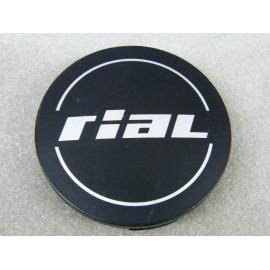 Nabenkappe Rial N37 schwarz matt