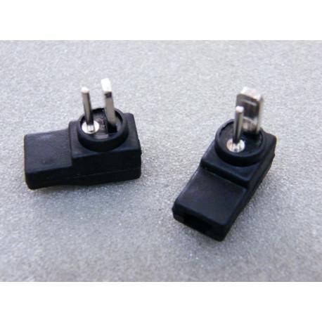 2 Stück Lautsprecherstecker DIN für Boxen