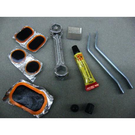 Flickzeug für Fahrrad, Schubkarre oder Rasenmäher