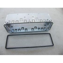 Metall Einbaurahmen für DIN oder ISO Radios