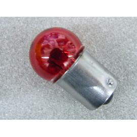 Glühlampe 12 Volt 10 Watt Sockel BA15s rot