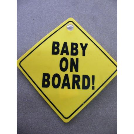 Schild Baby on Board