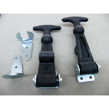 Vollgummi Haubenhalter für Motorhaube und Kofferraum