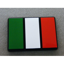 Klebeschild Italien Flagge