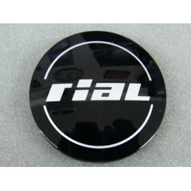 Nabenkappe Rial N32 schwarz glänzend