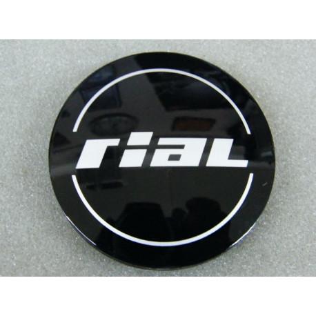 Nabenkappe Rial N23 schwarz glänzend