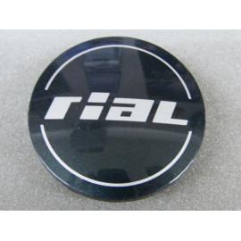 Nabenkappe Rial N32 anthrazit glänzend