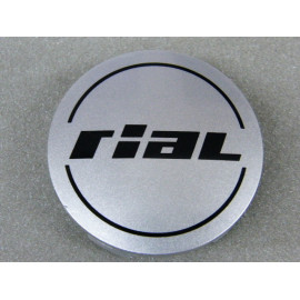 Nabenkappe Rial N37 silber glänzend