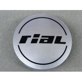 Nabenkappe Rial N23 silber glänzend
