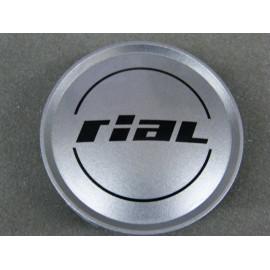 Nabenkappe Rial N12 silber glänzend