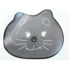 2x Sonnenschutz für die Seitenscheibe mit Saugnapf Motiv Katze