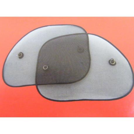 2x großer Sonnenschutz für die Seitenscheibe mit Saugnapf