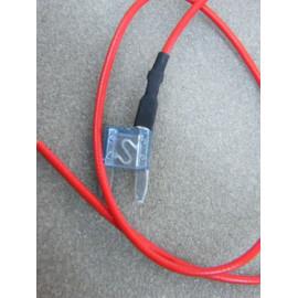 Mini Flachsicherung 15 Ampere mit Kabel