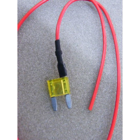 Mini Flachsicherung 20 Ampere mit Kabel