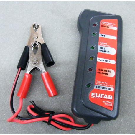Batterietester 12 V Volt für Batterie und Lichtmaschine