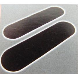 2x anklebbarer Türkantenschutz für Wände